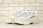 Кросівки Balenciaga Triple S (білі) Унісекс, фото 6