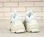 Кросівки Balenciaga Triple S (білі) Унісекс, фото 8