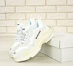 Кросівки Balenciaga Triple S (білі) Унісекс, фото 9