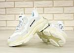 Кросівки Balenciaga Triple S (білі) Унісекс, фото 10