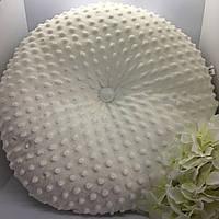 Плюшева декоративна подушка 30х30 см., фото 1