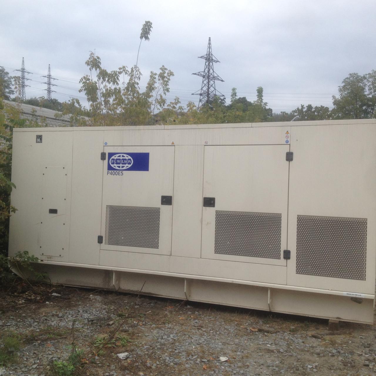 Аренда дизельного генератора FG Wilson P400 E5 (280 кВт)