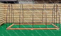 Теплица домиком Лидер 3*10 м, фото 1