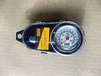 Манометр автомобильный металлический 7,5 Атм (в кейсе) СИЛА, фото 1