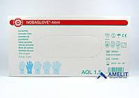 """Перчатки нитриловые Нобаглов (NobaGlove, Noba), размер """"S"""", 50пар/упак., фото 1"""
