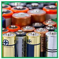 Большие батарейки типа D