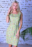 Модное легкое летнее платье,ткань летний джинс-стрейч,размеры:44,46,48,50., фото 1