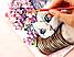 Набор акварельных красок Люкс 6 цветов, фото 7