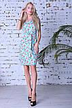 Модное легкое летнее платье,ткань летний джинс-стрейч,размеры:44,46,48,50., фото 3