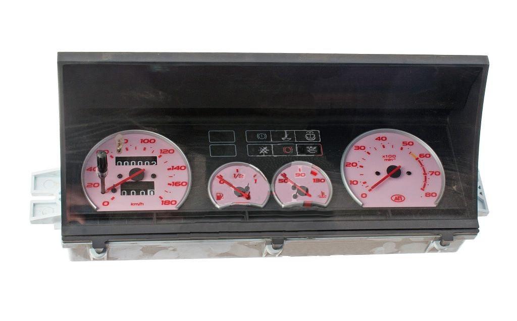 Комбинация приборов, розовая панель ВАЗ 2108, ВАЗ 2109, ВАЗ 21099, САМАРА