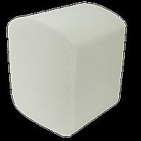 Бумага туалетная целюлозная Buroclean листовая 150 шт белая