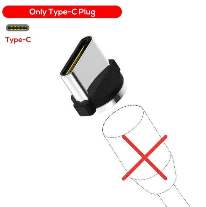 Магнитный круглый коннектор TOPK TYPE-C для магнитного кабеля