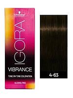 4-63 Краска для волос Schwarzkopf Igora Vibrance Tone Coloration - ССредний коричневый шоколадный матовый