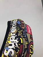 Сумка на пояс Бананка Supreme - Комикс бежевый
