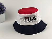 Панама Fila - бело-красная, фото 1
