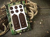 Шоколадные погоны подполковника для мужа