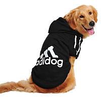 Толстовка для собак «Adidog», черный