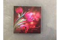 Коробка для конфет на 16 шт ( 18,5*18,5 h3 cm) Галетте -06266