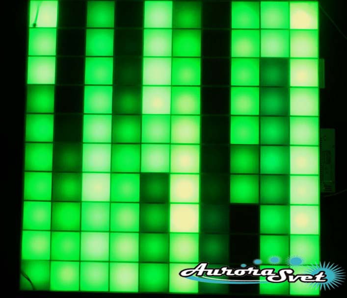 Светодиодная пиксельная панель напольная F-100-10*10-4-D