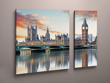 Картина модульная мост Лондон