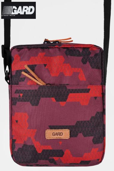 Сумка через плечо Gard Messenger MINI BAG Red triangle print 1/18