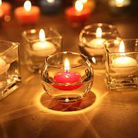 Свечи красные плавающие набор 12 шт 8710
