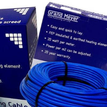 Двужильный нагревательный кабель ТНС20-15