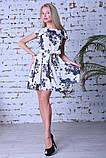 Нарядное летнее платье,ткань полированный штапель,размеры:44,46,48,50., фото 2