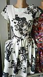Нарядное летнее платье,ткань полированный штапель,размеры:44,46,48,50., фото 4