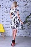 Нарядное летнее платье,ткань полированный штапель,размеры:44,46,48,50., фото 5