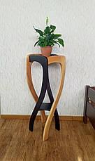 """Подставка для цветов из натурального дерева """"Адель"""" от производителя, фото 3"""