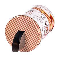 Металлическая емкость с дозатором для хранения сыпучих продуктов (1000 мл.)