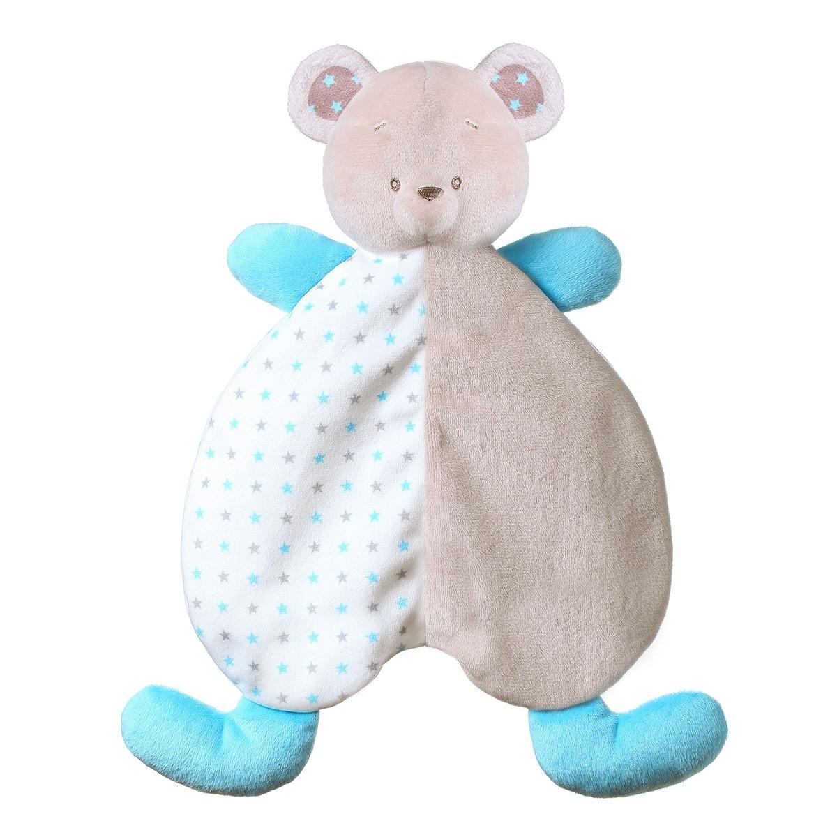 """Игрушка-обнимашка-одеяльце  """"Медвежонок Тонни"""" Baby Ono (1236)"""