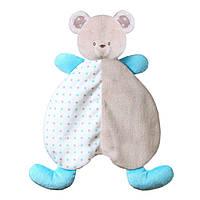 "Игрушка-обнимашка-одеяльце  ""Медвежонок Тонни"" Baby Ono (1236), фото 1"