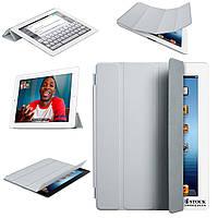 Чехол Накладка для планшета Apple Smart Cover (Light Gray) для iPad 2, 3, 4. - MD307LL/A (Оригинал)