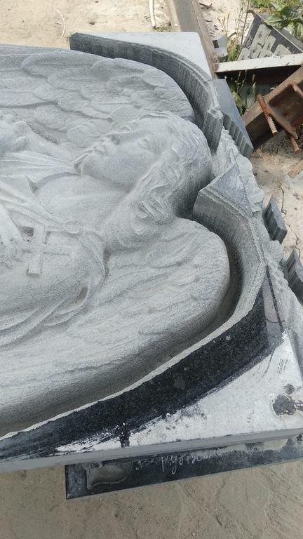 Памятник элитный Ангел скорбящий №741  5