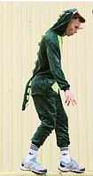 Кигуруми зеленый дракон (взрослый) krd0025