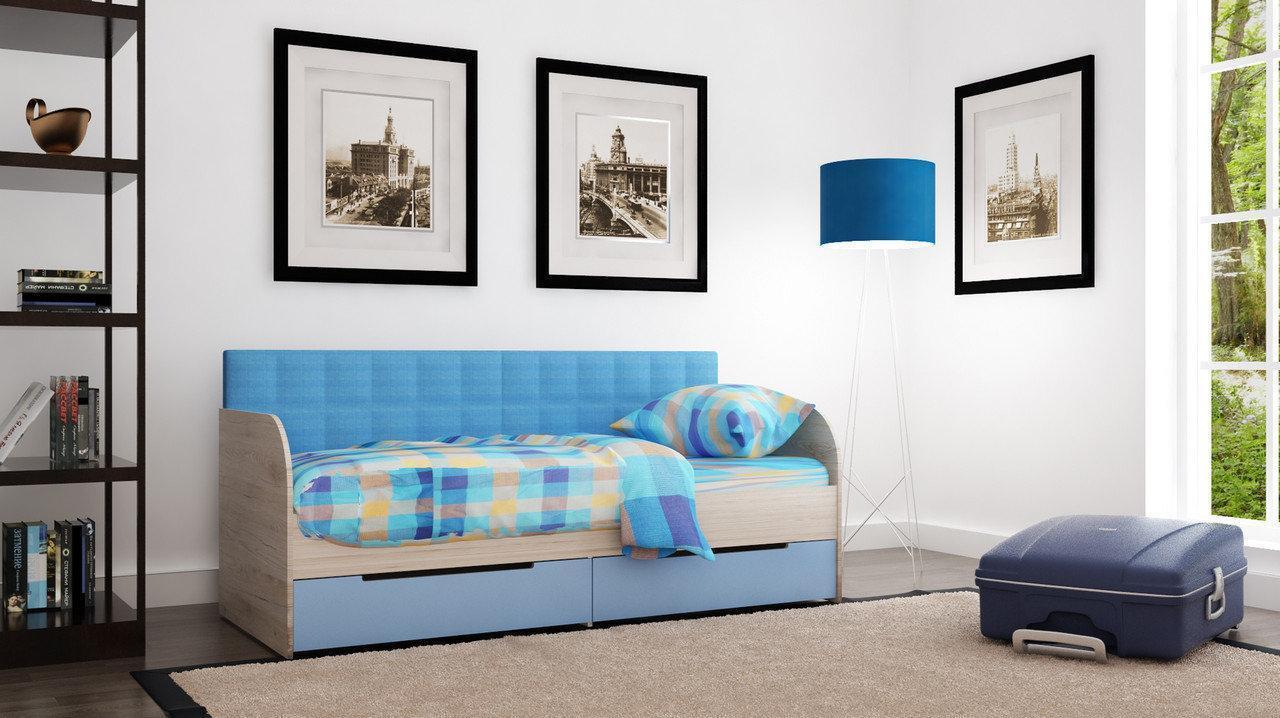 Дитяче ліжко з ящиками Л-7 2,0х0,9