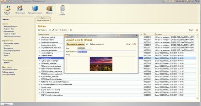 Веб-приложение и тонкий клиент 1С8.2 «Мониторинг недвижимости» 87