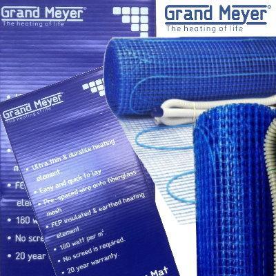 Двужильный нагревательный мат Grand Meyer THM180-010
