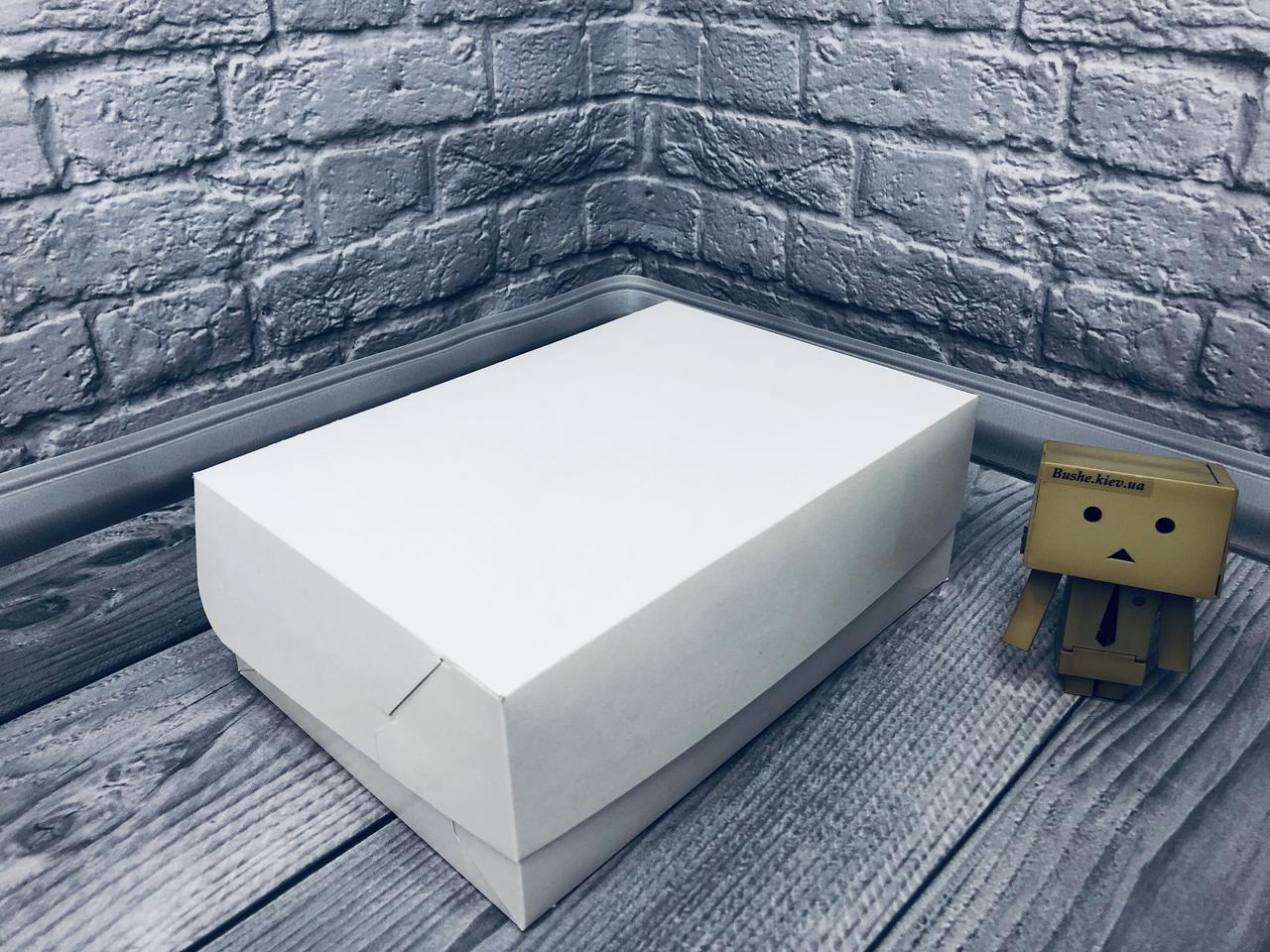 Коробка для 6-ти кексов / 250х170х90 мм / Эконом-Белый / б.о.
