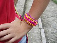 """Браслет """"Фэндом Рапунцель"""" Rainbow Loom Bands (#3168)"""