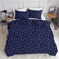 Комплект семейного постельного белья STARSFALL BLUE (хлопок, ранфорс), фото 1