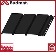 Софит Budmat ( черный ). Панель будмат 3 х 0,34 м. Софит сплошной.