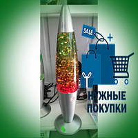 """Настольная лампа  """"ЛАВА С ЗВЕЗДОЧКАМИ """"34см, 3 цветная"""
