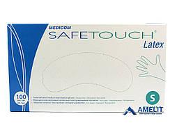 Перчатки латексные Сейф-Тач, Медиком, размер S, текстурированные (Safe-Touch, Medicom), 50пар/упак.