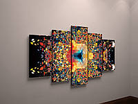 Картина модульная яркие краски