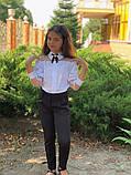 Модная детская блуза,размеры:128,134,140,146., фото 2