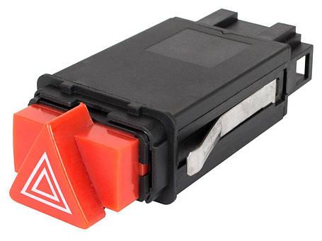 Кнопка аварийки аварийного сигнала Audi A3 8L 96-03 (10-контактный разьем), фото 2