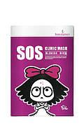 Южная Корея BeauuGreen SOS Clinic Blemish Mask - Маска тканевая от прыщей